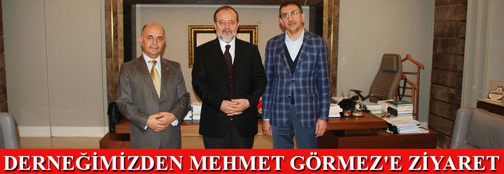 Derneğimizden Mehmet Görmez'e ziyaret