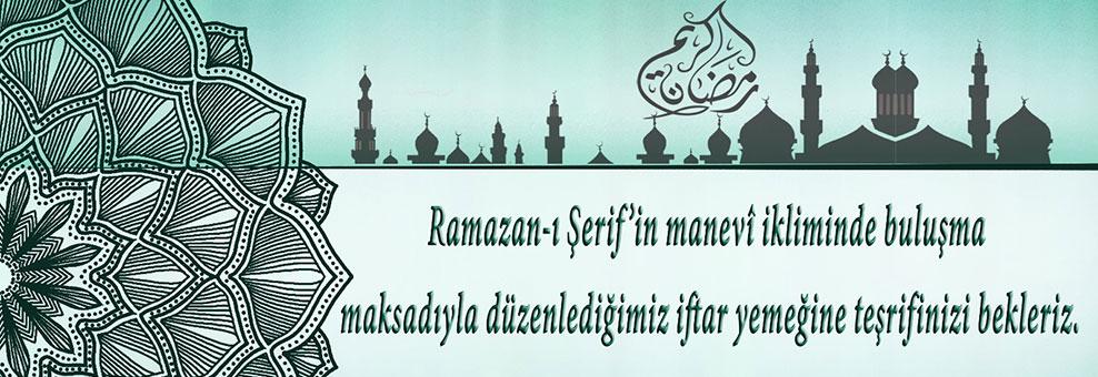Ramazan ayı boyunca her Salı ve Cumartesi iftar