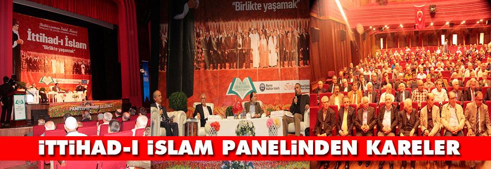 İtihad-ı İslam panelinden kareler
