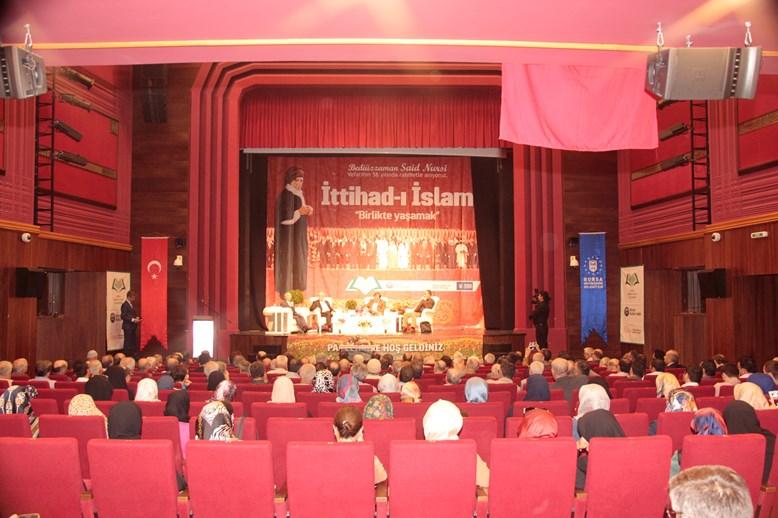 İttihad-ı İslam ve Birlikte Yaşamak paneli