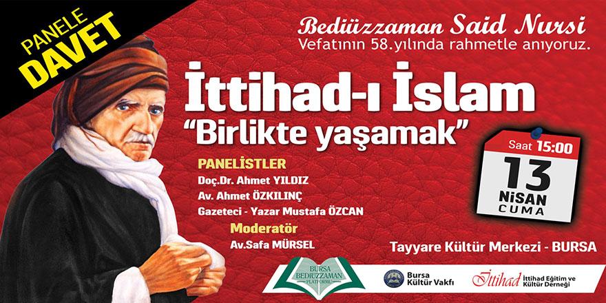 Bediüzzaman ve İttihad-ı İslam paneli